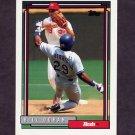 1992 Topps Baseball #136 Bill Doran - Cincinnati Reds