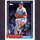 1992 Topps Baseball #108 Mike Timlin - Toronto Blue Jays
