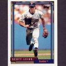 1992 Topps Baseball #074 Scott Leius - Minnesota Twins
