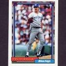 1992 Topps Baseball #054 David Wells - Toronto Blue Jays