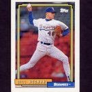 1992 Topps Baseball #022 Bill Wegman - Milwaukee Brewers