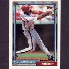 1992 Topps Baseball #014 Wes Chamberlain - Philadelphia Phillies