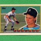 1989 Topps BIG Baseball #324 Mike Brumley - Detroit Tigers