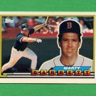 1989 Topps BIG Baseball #278 Marty Barrett - Boston Red Sox
