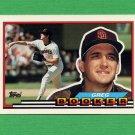 1989 Topps BIG Baseball #194 Greg Booker - San Diego Padres