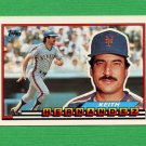 1989 Topps BIG Baseball #185 Keith Hernandez - New York Mets