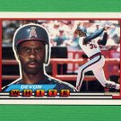 1989 Topps BIG Baseball #122 Devon White - California Angels