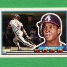 1989 Topps BIG Baseball #104 Albert Hall - Atlanta Braves