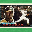 1989 Topps BIG Baseball #101 Dave Stewart - Oakland A's