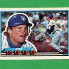 1989 Topps BIG Baseball #078 Rob Deer - Milwaukee Brewers