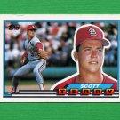 1989 Topps BIG Baseball #031 Scott Terry - St. Louis Cardinals
