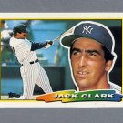 1988 Topps BIG Baseball #262 Jack Clark - New York Yankees