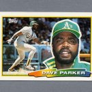 1988 Topps BIG Baseball #242 Dave Parker - Oakland A's