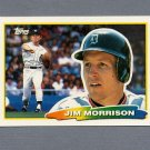 1988 Topps BIG Baseball #237 Jim Morrison - Detroit Tigers