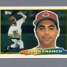 1988 Topps BIG Baseball #232 John Franco - Cincinnati Reds