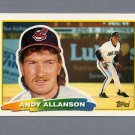 1988 Topps BIG Baseball #231 Andy Allanson - Cleveland Indians