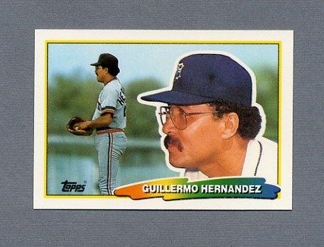 1988 Topps BIG Baseball #206 Willie Hernandez - Detroit Tigers