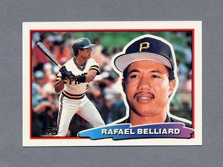 1988 Topps BIG Baseball #175 Rafael Belliard - Pittsburgh Pirates