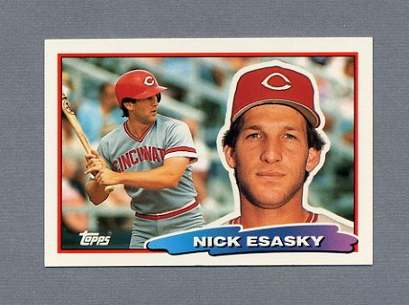 1988 Topps BIG Baseball #167 Nick Esasky - Cincinnati Reds