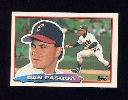 1988 Topps BIG Baseball #164 Dan Pasqua - Chicago White Sox