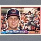 1988 Topps BIG Baseball #156 Greg Swindell - Cleveland Indians