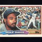 1988 Topps BIG Baseball #154 Mike Davis - Los Angeles Dodgers