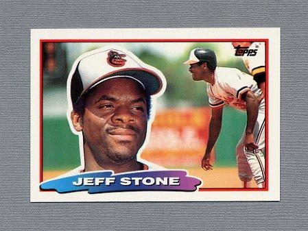 1988 Topps BIG Baseball #146 Jeff Stone - Baltimore Orioles