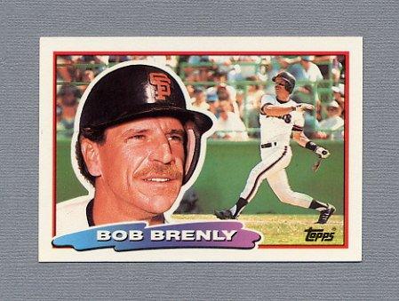 1988 Topps BIG Baseball #143 Bob Brenly - San Francisco Giants