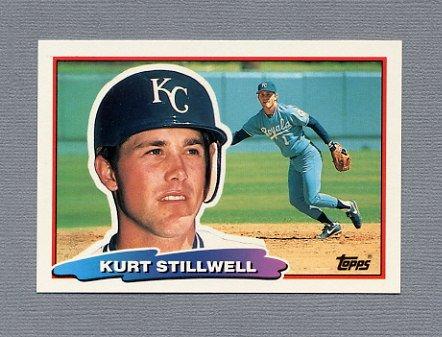 1988 Topps BIG Baseball #136 Kurt Stillwell - Kansas City Royals