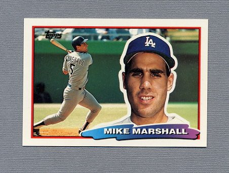 1988 Topps BIG Baseball #133 Mike Marshall - Los Angeles Dodgers