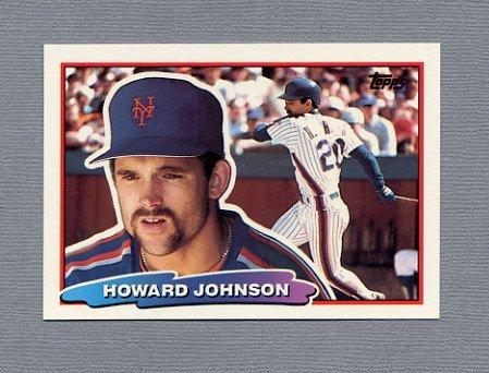 1988 Topps BIG Baseball #129 Howard Johnson - New York Mets