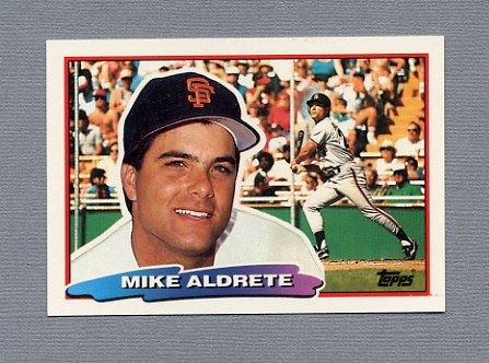 1988 Topps BIG Baseball #119 Mike Aldrete - San Francisco Giants