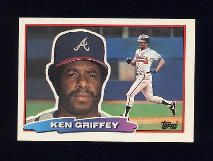 1988 Topps BIG Baseball #110 Ken Griffey Sr. - Atlanta Braves