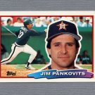 1988 Topps BIG Baseball #109 Jim Pankovits - Houston Astros