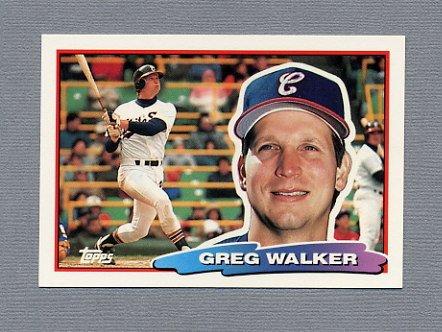 1988 Topps BIG Baseball #105 Greg Walker - Chicago White Sox