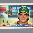 1988 Topps BIG Baseball #103 Mike Gallego - Oakland A's