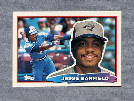 1988 Topps BIG Baseball #092 Jesse Barfield - Toronto Blue Jays