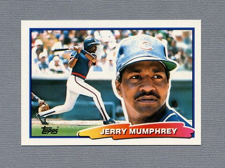 1988 Topps BIG Baseball #070 Jerry Mumphrey - Chicago Cubs