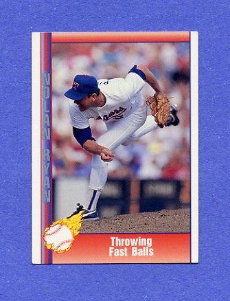 1991 Pacific Ryan Texas Express I Baseball #021 Nolan Ryan - Texas Rangers