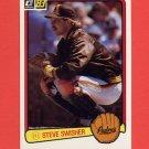 1983 Donruss Baseball #633 Steve Swisher - San Diego Padres