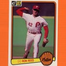 1983 Donruss Baseball #567 Ron Reed - Philadelphia Phillies
