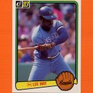 1983 Donruss Baseball #538 Lee May - Kansas City Royals