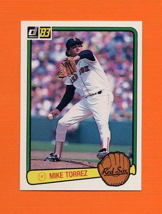 1983 Donruss Baseball #512 Mike Torrez - Boston Red Sox