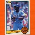1983 Donruss Baseball #501 Larry Whisenton - Atlanta Braves