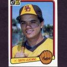 1983 Donruss Baseball #499 Sixto Lezcano - San Diego Padres