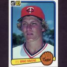 1983 Donruss Baseball #480 Brad Havens - Minnesota Twins
