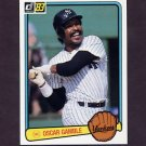 1983 Donruss Baseball #461 Oscar Gamble - New York Yankees
