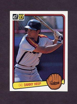 1983 Donruss Baseball #443 Danny Heep - Houston Astros