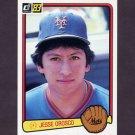 1983 Donruss Baseball #434 Jesse Orosco - New York Mets