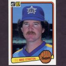 1983 Donruss Baseball #433 Mike Stanton - Seattle Mariners